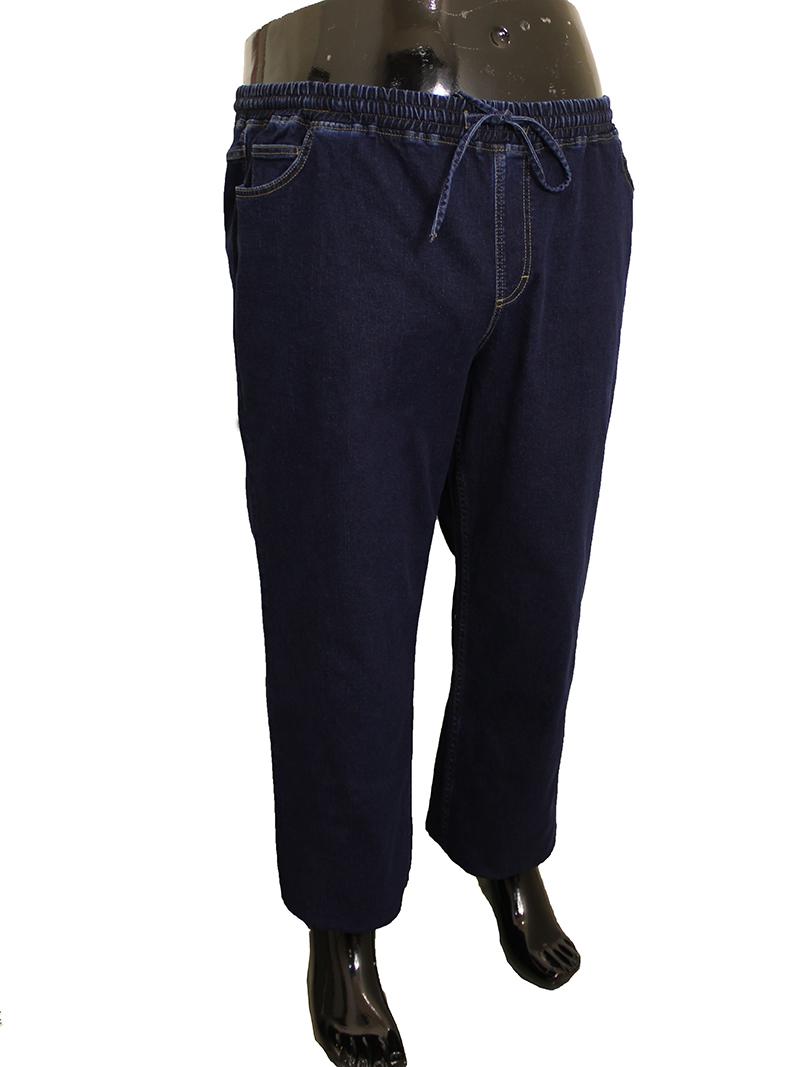 Джинсы и брюки на резинке